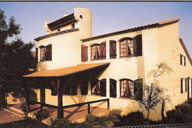 vue principale de la maison
