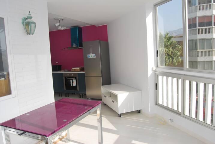 Apartamento 1ª linea playa El Campe - El Campello - Apartment