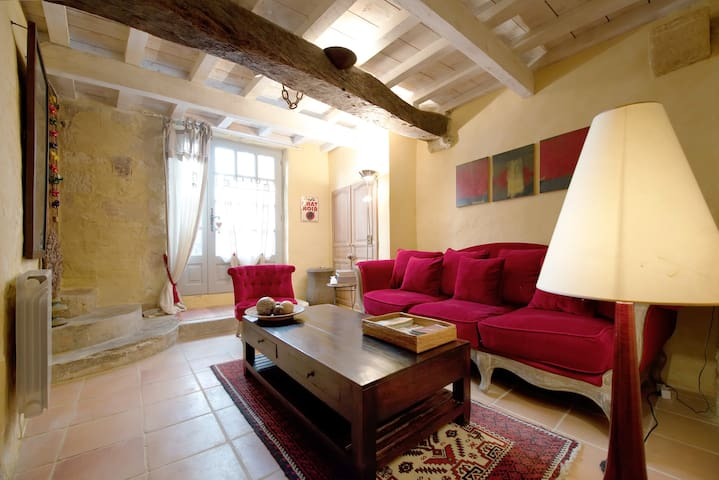 Very center of Uzes, Charming House