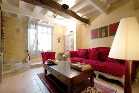 Very center of Uzes, Charming House - House