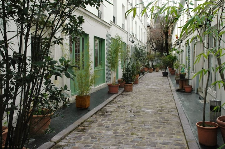 Lovely flat/house, near Montmartre - Parijs - Appartement