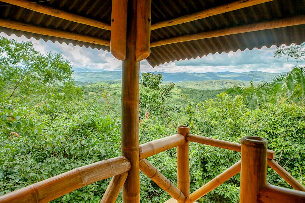 Bamboo Chalet - Spectacular views/vistas espetaculares do chale de bambu