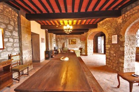 Appt Tuscany Castle 30 km Siena - Torniella - Wohnung