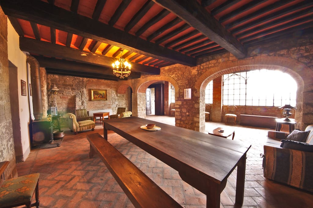 ground floor common space