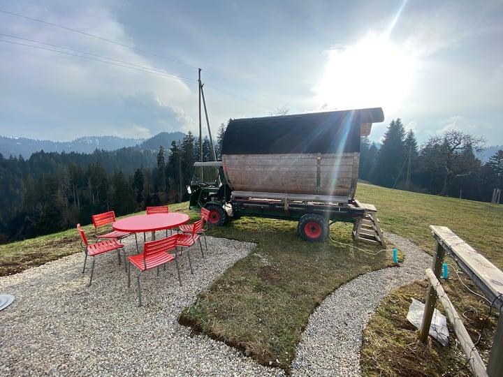 Schilter Wohnfass 2P, SPA (Sauna, Hot Tub/Jacuzzi)