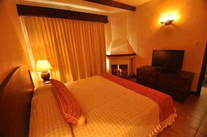 Linda habitación para hospedarte en Antigua G.