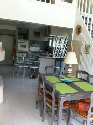 Pièce d'accueil - Agde - Bed & Breakfast