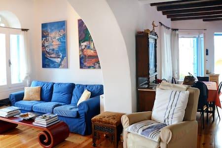 Νέα Sunset σπίτι στην Τήνο  - Tinos - Casa