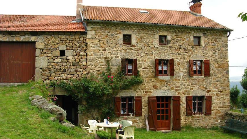 Maison Haute Loire plein sud - Alleyras - House