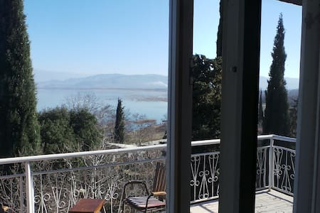Idyllic view of Dojran Lake - Sretenovo