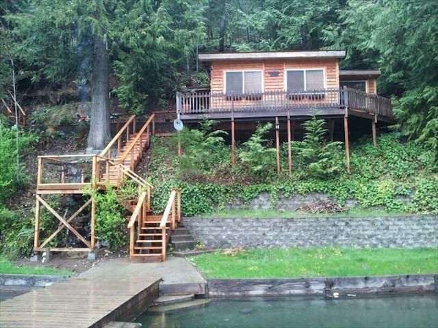Cozy Cabin Rental on Lk Sutherland - Port Angeles - Srub