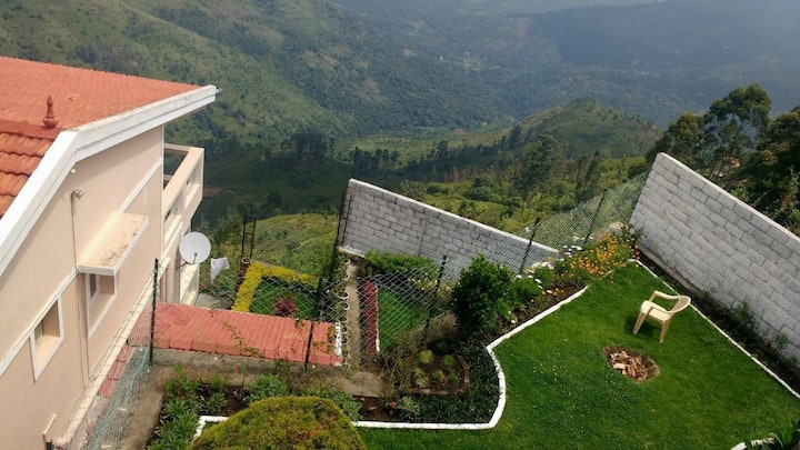 Villa Nestled in mid of Mountains # TNKOD007