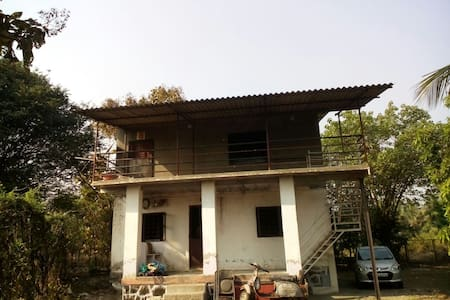 Potdar  House, Bungalow on rent, Ambepur, Alibaug