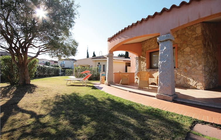 Nice home in Costa Rei -CA- with 3 Bedrooms