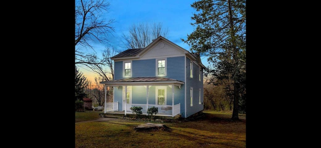 Idyllic colonial home in historic Crozet!