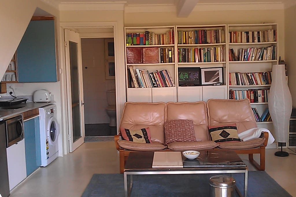 Guests are welcome to read the exentive collection of books during their stay