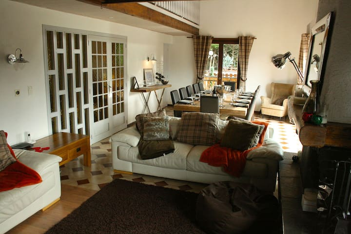 Family Friendly Large 5 Bedroom Chalet, Hot Tub - Morzine - House