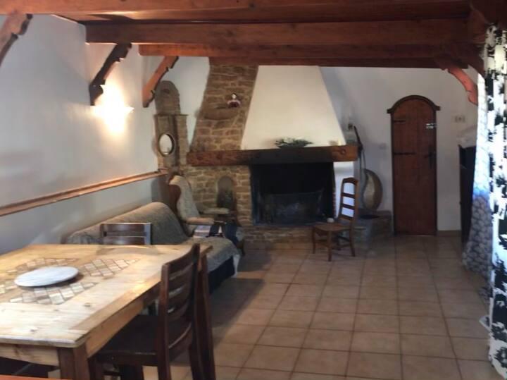 Villa T2 cheminée