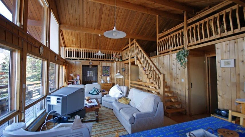 Alpine chalet with views/ski nearby - Enchastrayes