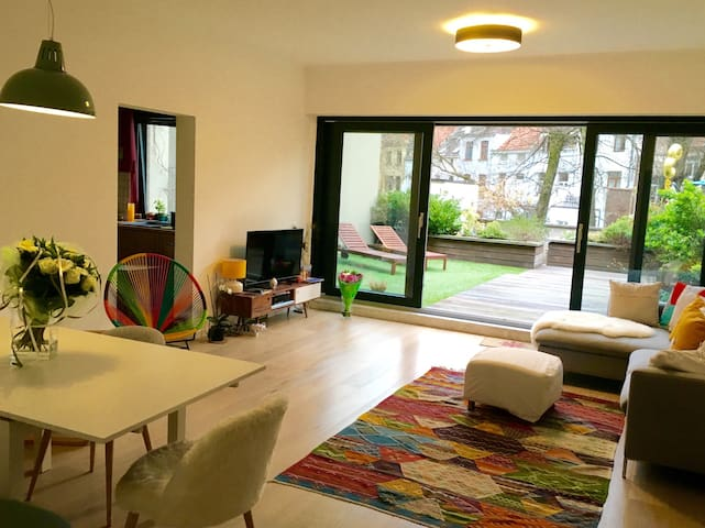 Apartment with big Garden (EU area) - Bruxelles - Apartment