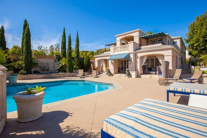 beverly hills style elite mansion la jolla villas for rent in