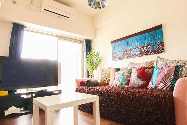 Cozy room, only 1 min walk from subway STA (B 305)