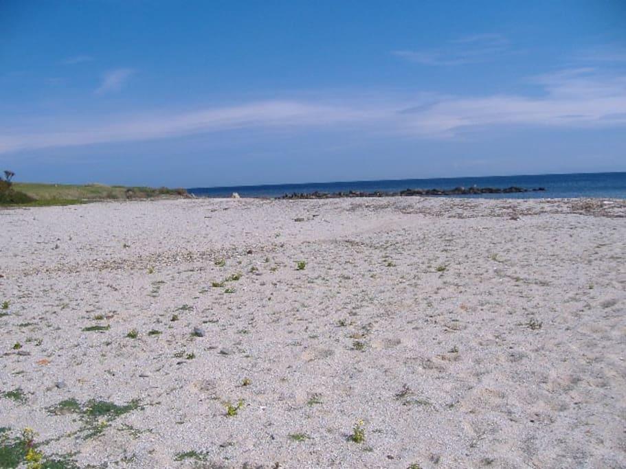 Spiaggia delle Tonnare - difronte all'appartamento