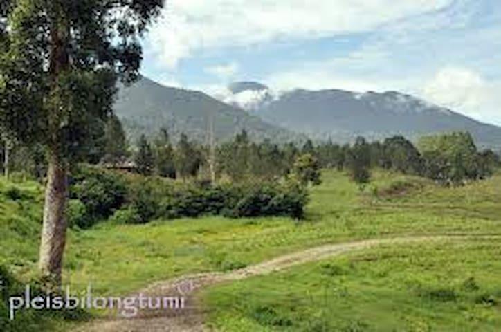 Visit to my home - Sidikalang - Huis
