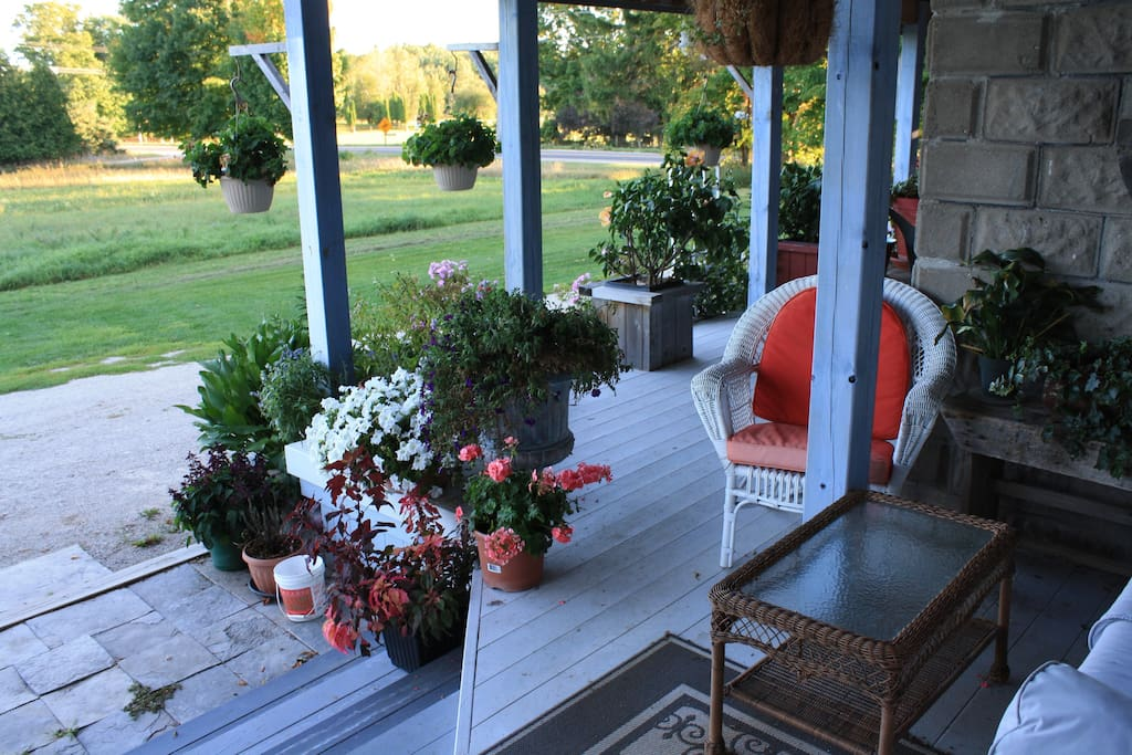 porches to relax on