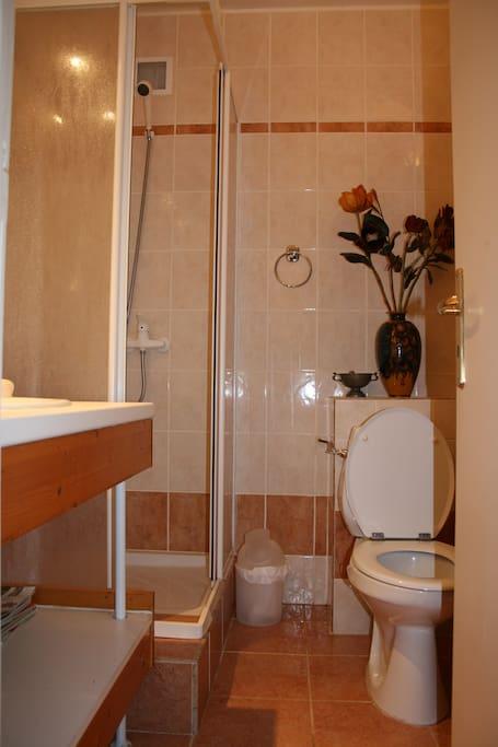 cabinet toilette douche