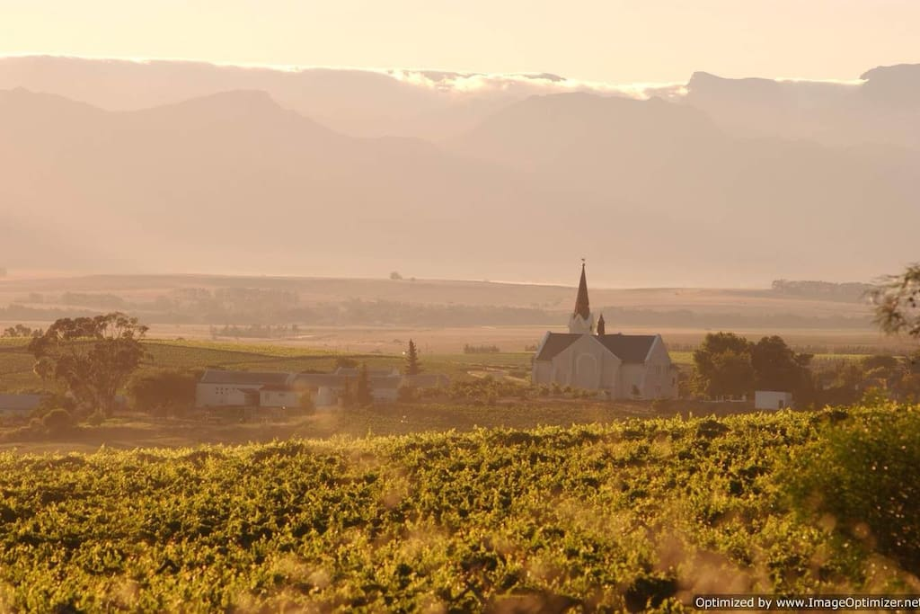 The Riebeek Valley early in the morning