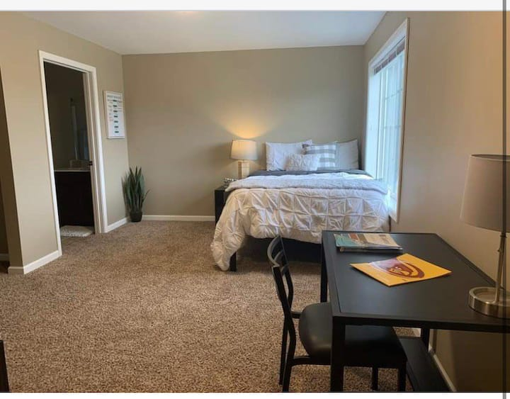 Cozy private room near to ISU and everything