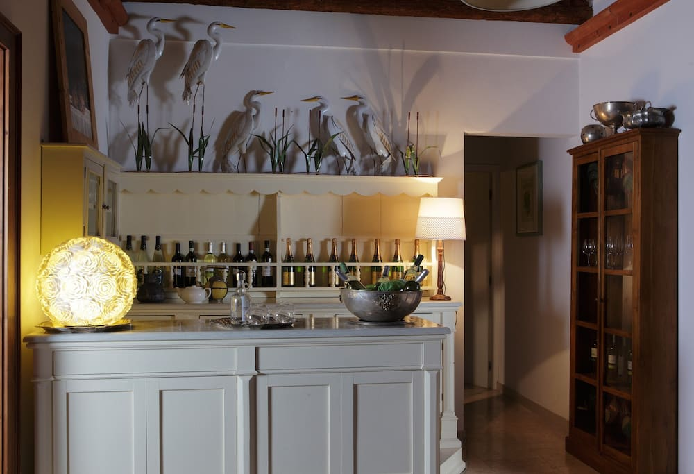 Cà Priuli. Living room