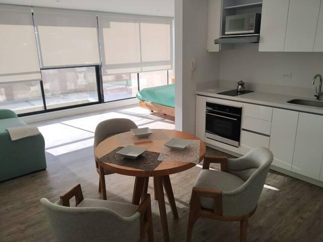 Confortable apartamento nuevo y totalmente dotado