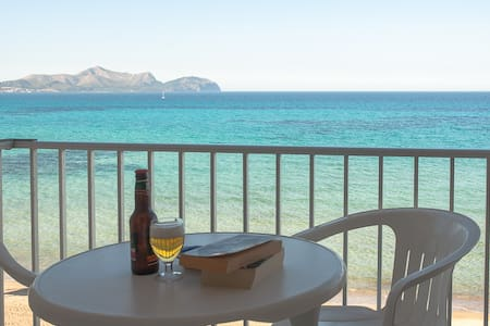 Apartment in front of the beach A - Can Picafort - Appartement