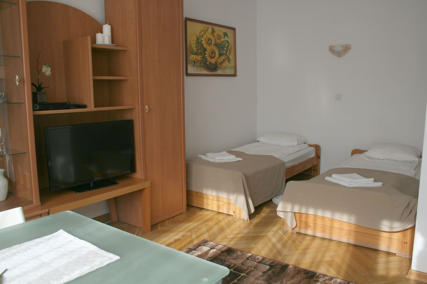 Spacious rooms and comfortable beds