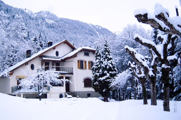 Great Villa in front of the MtBlanc - Chamonix - Villa