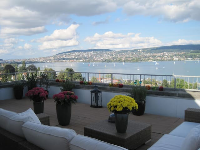 amazing view, 15 min to city center - Zürich - Condominium
