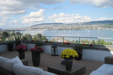 amazing view, 15 min to city center - Zürich