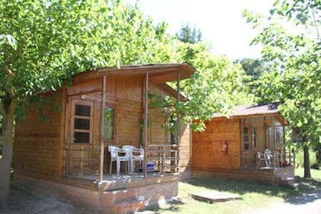 Camping Montsec - Bungalow Estándar 2 - (4 adultos) - Terradets