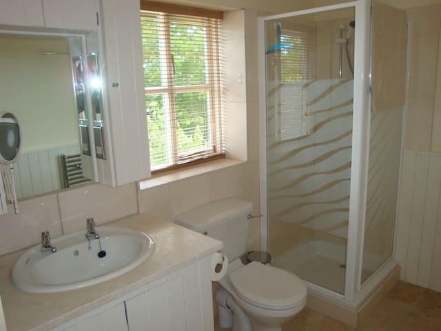 Huge bright ensuite room with TV  - Broad Oak