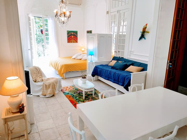 Casa Palacio Elegante Studio luminoso Belgrano R