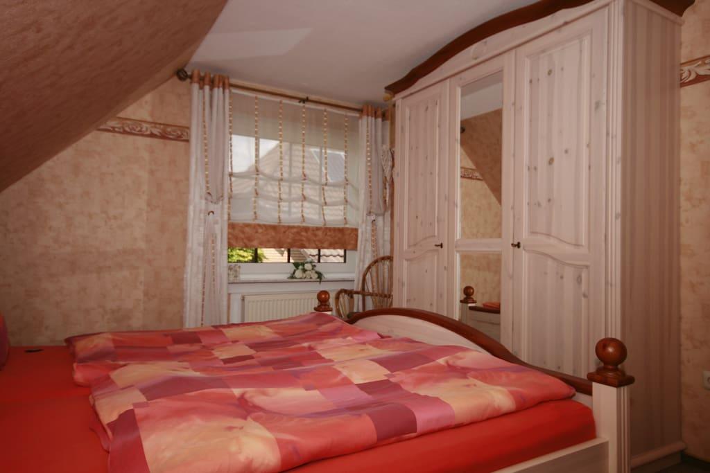 Ansicht Schlafzimmer