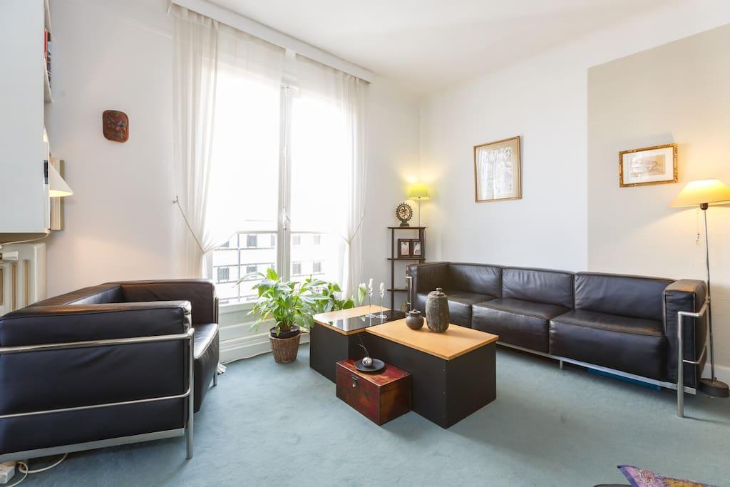 Apt 61m 2 chambres 4 5 personnes appartements louer for Chambre 6 personnes paris