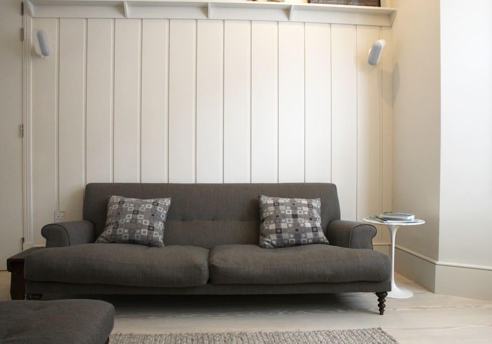 Mathew Hilton sofas in the lounge
