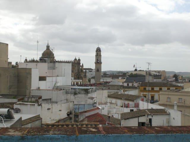 Casa en pleno centro de Jerez - Jerez - Apartment