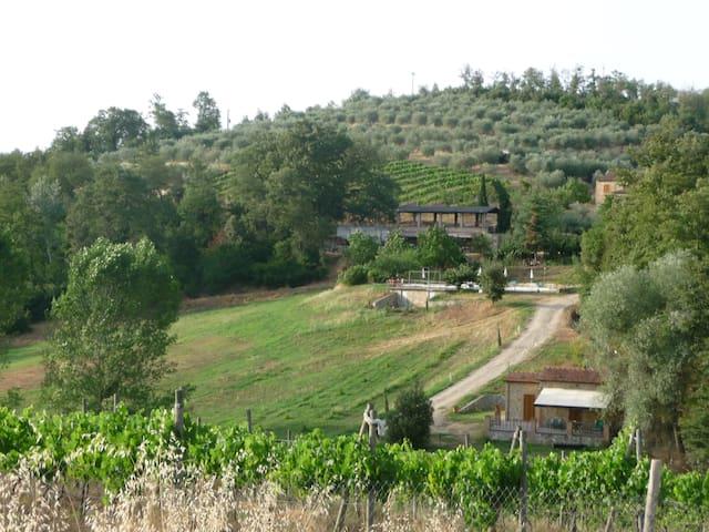 Agriturismo Siena Apartment 2 pax - Rapolano Terme - วิลล่า