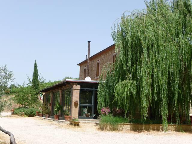 Agriturismo Siena Apartment 4 pax - Rapolano Terme - วิลล่า