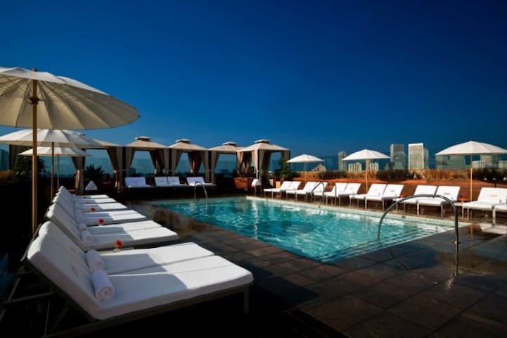 Luxury Resort Double Master w/Parking Downtown LA