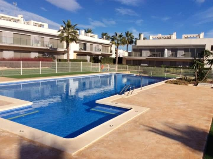 Apartment with 2 bedrooms in Orihuela, with shared pool, enclosed garden and WiFi